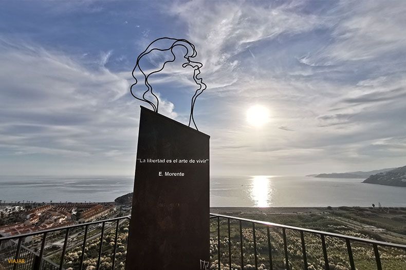 Mirador de Enrique Morente. Que visitar en Salobreña