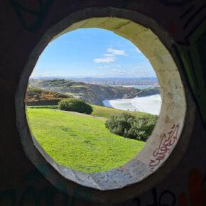 Senda del Cervigón de Gijón:  una ruta de naturaleza y arte junto al mar