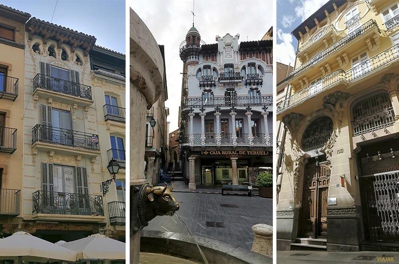 Casas modernistas de Teruel