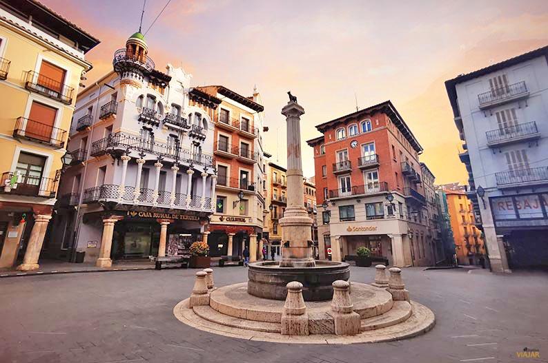 Plaza del Torico. Que ver en Teruel
