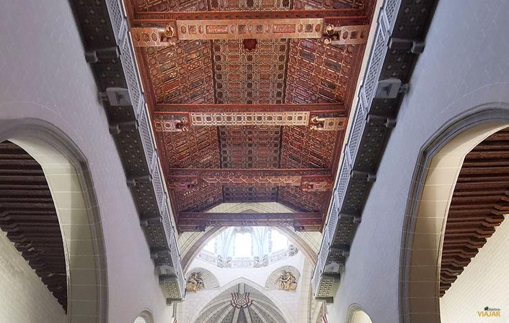 Techumbre de la Catedral de Teruel