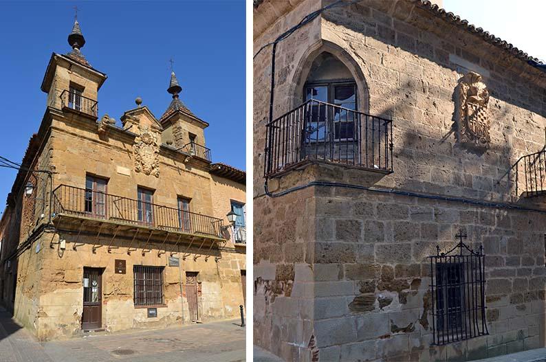 Antiguo Consistorio y palacio de los Osorio de Valderas