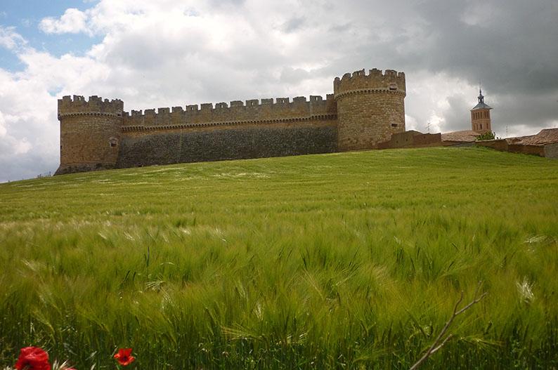 Castillo de Grajal de Campos. Villas historicas de Leon