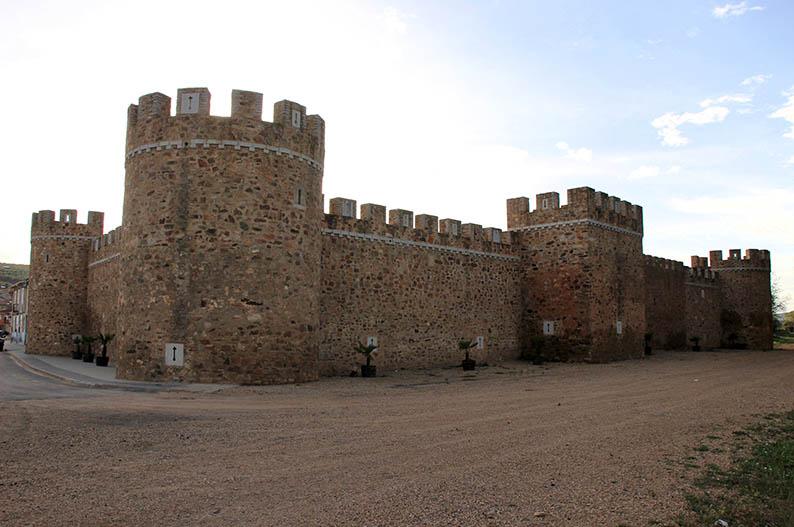 Castillo de los Pimentel. Alija del Infantado