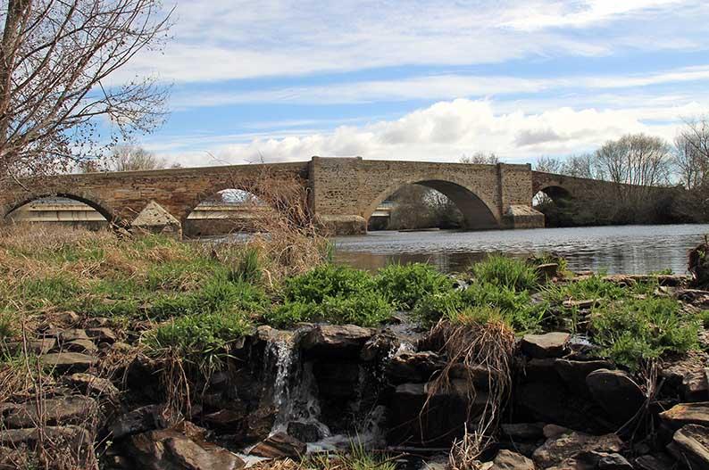 Puente de La Vizana de Alija del Infantado