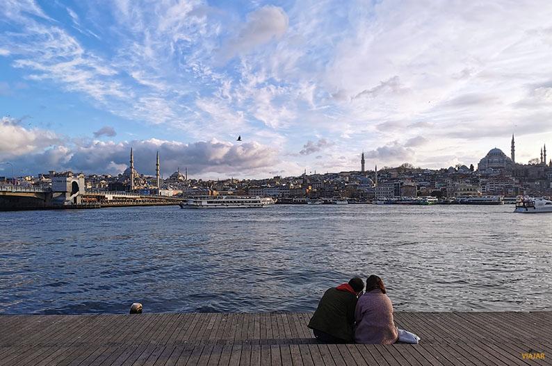 Vista de Estambul desde el Cuerno de Oro