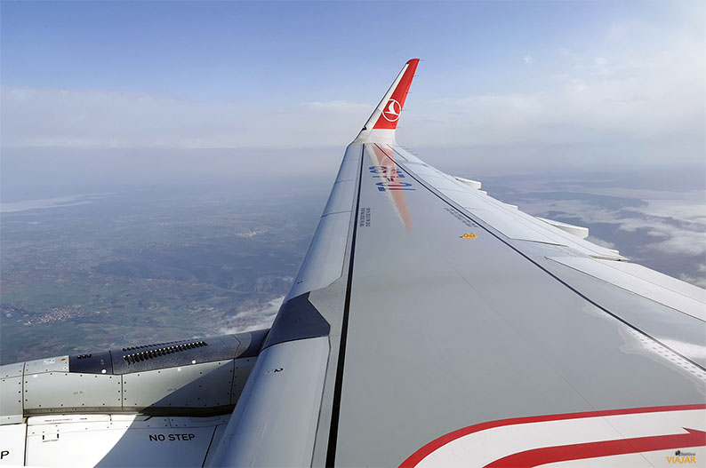 Avion de Turkish Airlines