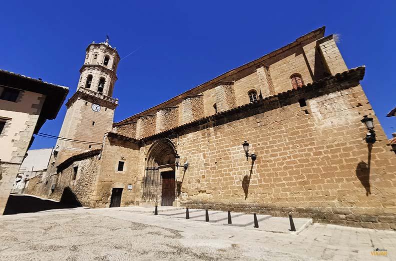 Iglesia  de la Asuncion de Mosqueruela