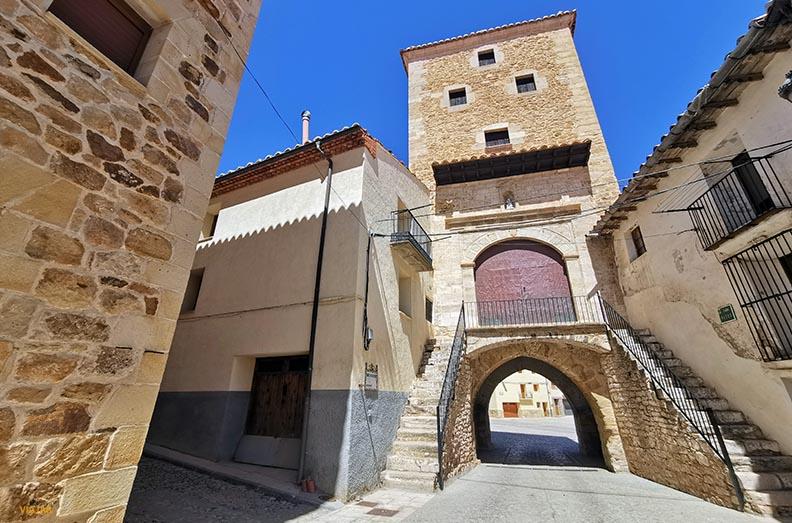 Portal de San Roque. Mosqueruela