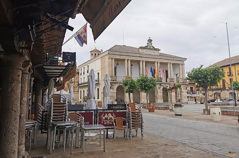 Plaza Mayor y ayuntamiento de Toro