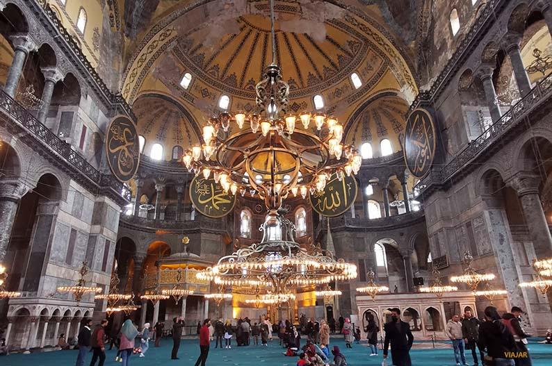 Actual mezquita de Ayasofya